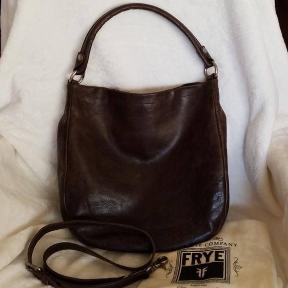 Frye Handbags - Frye melissa hobo bag slate 59a343c6a92d9